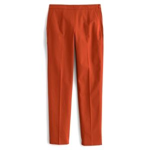 J. Crew Martie Slim Crop Bi-Stretch Cotton Pant